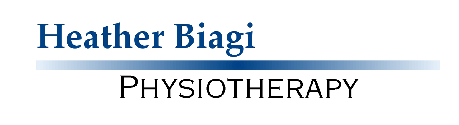 Heather Biagi Physiotherapy             Logo